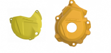 New Husqvarna FC 250 350 16 17 18 Clutch Ignition Cover Protector Combo Yellow
